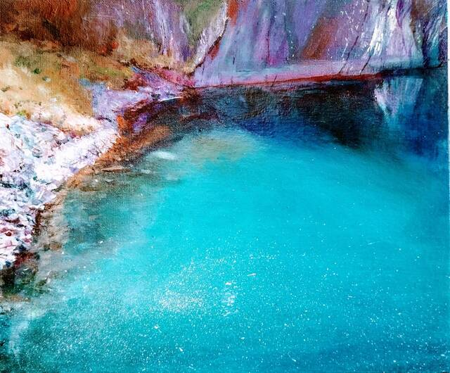 """Picture of """"Quarry Pool, Easdale"""""""