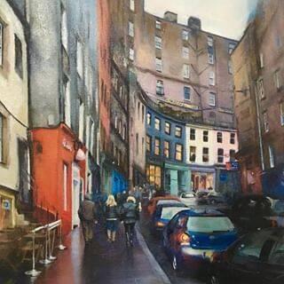 "Picture of ""Victoria St. Edinburgh"""